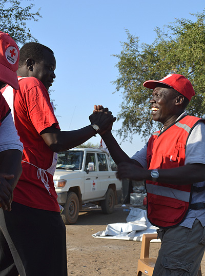 Support to the South Sudan Red Cross